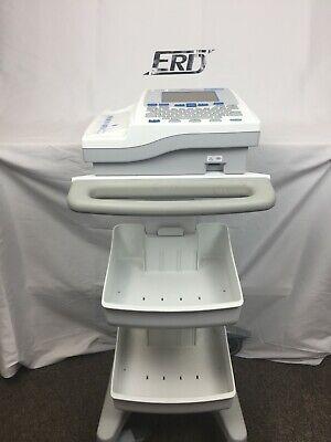 Burdick Atria 6100 Ecg Machine W Leads And Cart