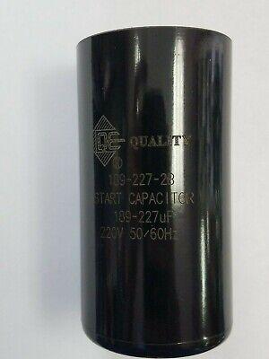 Motor Start Capacitor 189-227 MFD uF 220-250VAC HVAC Cap + US Free Shipping