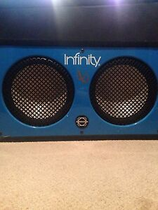 Car Speakers and Amp