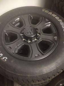 """20"""" Black Dodge Ram sets. New OEM."""
