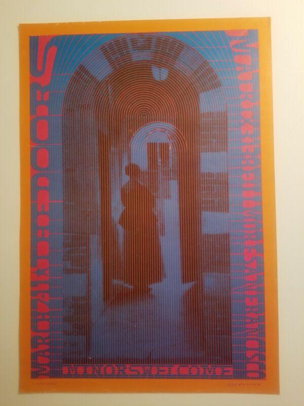 The Doors Neon Rose poster