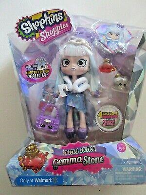 2016 Special Edition Shopkins Shoppies Gemma Stone RARE