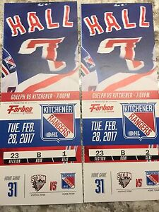 Kitchener Ranger Tickets, Tuesday, February 28