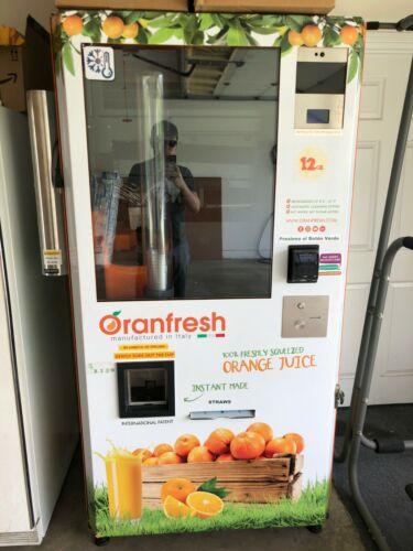Orange Juice Vending Machine OR130 - Bought in 2019