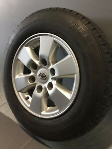 """TOYOTA HIACE/ HILUX 15"""" GENUINE ALLOY WHEELS AND TYRES Carramar Fairfield Area Preview"""