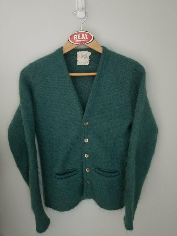 Vintage Mohair Cardigan Cobain Sweater Men