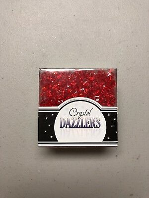 Crystal Dazzlers Red Acrylic Ice Rocks Table and Vase Fillers - Hobby Lobby Wedding Supplies