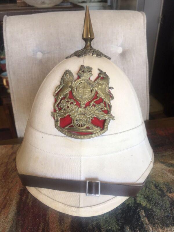 British Pith Helmet Queen Victoria Era