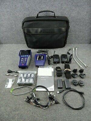 Jdsu Validator Pro Kit Network Lan Ethernet Cable Tester Validator Remote