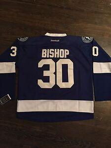 Ben Bishop Lightning hockey goalie jersey XXXL