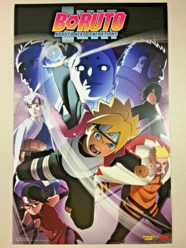 "BORUTO Naruto Next Generations Poster SDCC 2019 Comic Con Viz Media - 11"" x 17"""
