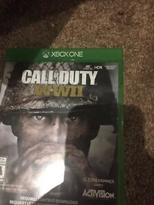 COD WW2 XBOX ONE NEED GONE ASAP $30