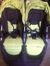 Steelcraft Agile Twin- Double Pram Walkerville Walkerville Area Preview