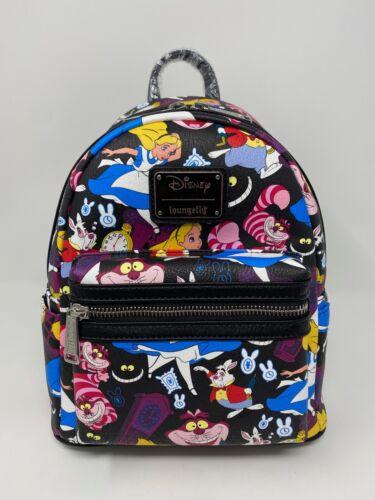 NWT GENUINE Loungefly X Disney Classic Alice In Wonderland Mini Backpack EXACT c