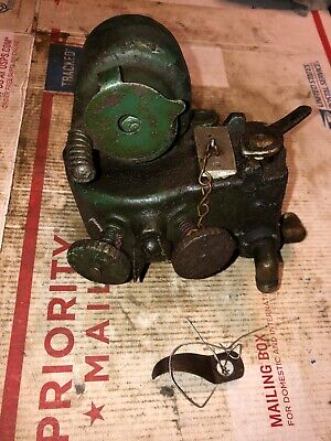 International Harvester Ihc M 1-12 Carb 9624ta Hit Miss Stationary Engine Green