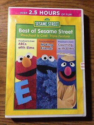 Sesame Street Best Of Sesame Street Preschool Is Cool: Triple Feature DVD
