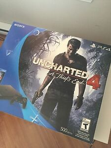 PlayStation 4 uncharted 4 bundle neuf avec facture