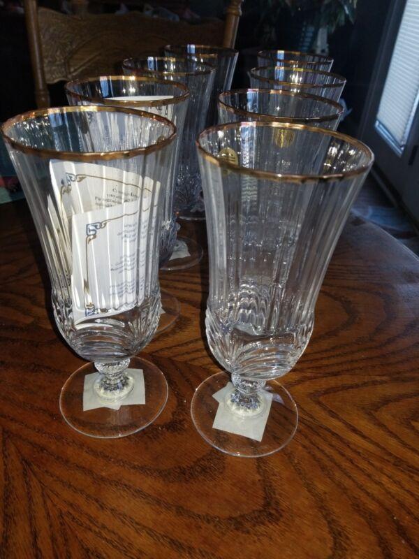 Royal Crystal Rock AUREA GOLD Iced Tea Glass 1000671