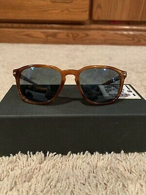 Persol 9649-S Sunglasses Light Havana Polarized 1025S3 Authentic New Size (Persol Sunglasses Sizes)