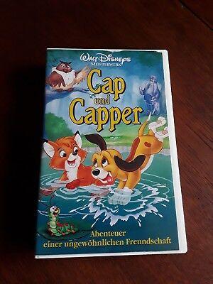 VHS Walt Disney Meisterwerke Cap und Capper