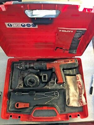 Hilti Dx 351 Fully Automatic Powder-actuated Tool W Case Accessories