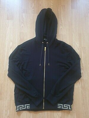 Mens Versace Tracksuit - Medium Hoody + Small Bottoms - Excellent Condition
