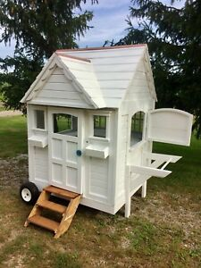Mobile pet house/coop/playhouse