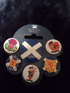 6 Scotland badges  London Ontario image 1