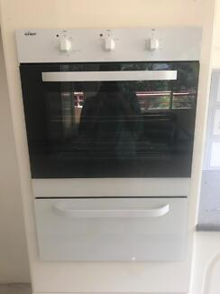 Chef 60cm Electric Fan Forced Wall Oven with Separate Grill