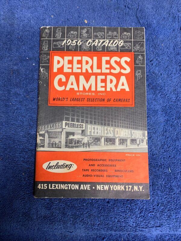 Vtg Photography Catalog 1956 Peerless Camera Stores Photo Equipment