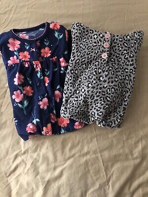 Carters Fleece Outfit Baby Girl Size 12 18 Month Sets Lot Of 2 Euc Toddler Toddler Girls Fleece Outfit