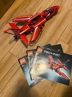Lego Technic 9394 Jet Plane 100% Complete with Instructions no Box