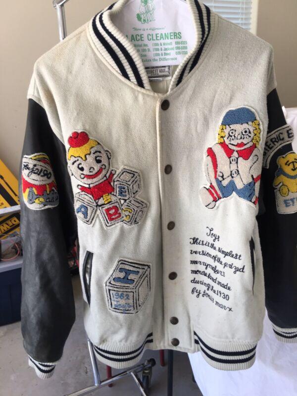 Vintage & Rare Hysteric Et Vous Paris Varsity  Leather Jacket Toys By Louis Marx