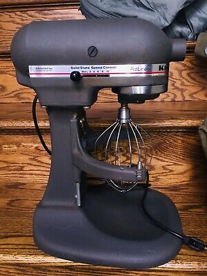 KitchenAid ProLine Stand Mixer KSM5 Heavy Duty 325 Watt Imperial Gray Attachment