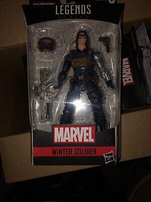 Marvel Legends - Black Widow - 6 In - Winter Soldier - Crims Dynamo- MOC in hand