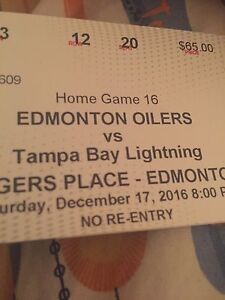 FS or Trade Oilers tickets