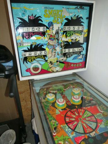 Williams Smart Set Pinball Machine 1969 vintage/antique