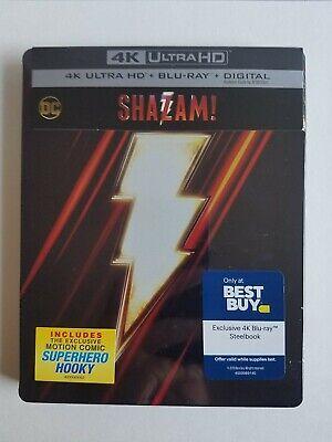 Best Family Halloween Movies 2019 (SHAZAM! STEELBOOK (4K UHD + Blu-Ray + Digital) DC's best movie Sealed &)