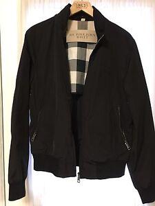 Authentic Burberry light weight bomber jacket. Windsor Region Ontario image 2