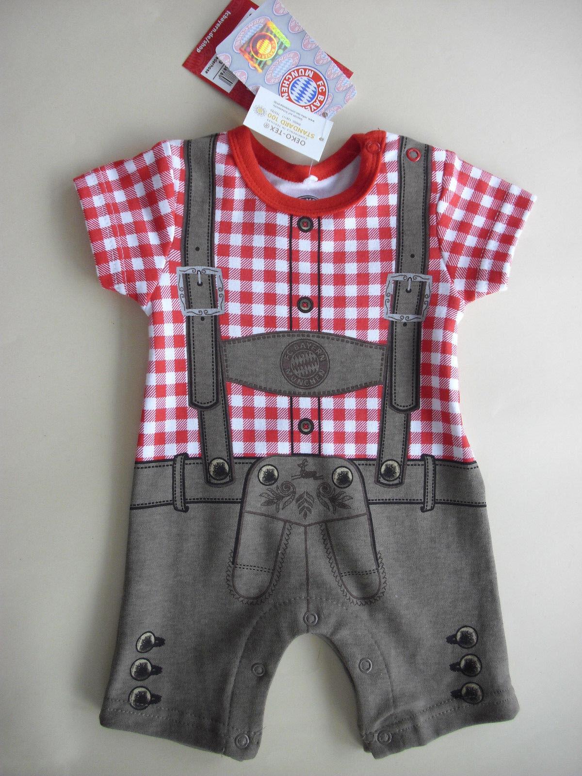 Baby Body Lederhose FC Bayern München 21453