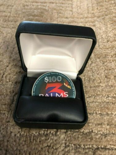 $ 100 Playboy Casino Chip Palms 3rd Anniversary -Extremely Rare!