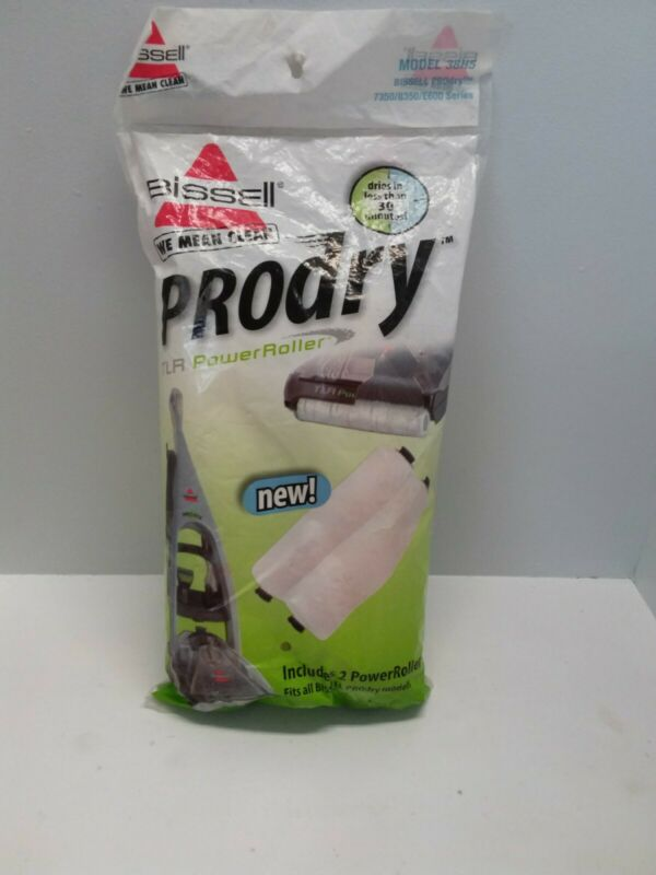 BISSELL PRODRY TLR POWER ROLLER 38H5 2 PACK REFILL FITS 7350 8350 E600 SERIES