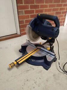GMC mitre saw (2000w / 254mmm blade / sliding compound)