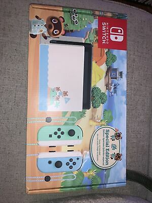 Nintendo Switch Console 32GB Animal Crossing New Horizons Edition *IN HAND*