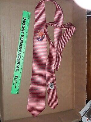 RARE Vintage *GUCCI* Tie Necktie Gucci 60 x 3 inch pink/red flamingo