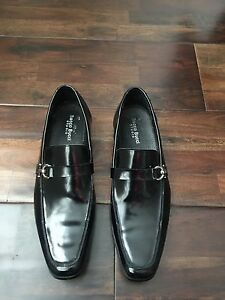 Bacco Bucci black men's dress shoes