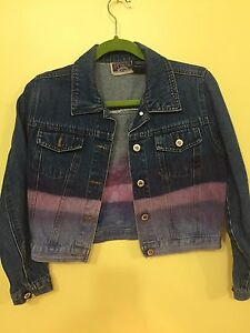 Assorted denim jackets