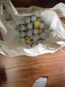 Bag of golf balls