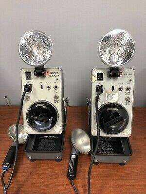 Lot Of 2 General Radio 1538-a Strobotac Extension Lamp Only 2 Bulbs Included