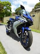 Yamaha YZF-R3 2016 Revesby Bankstown Area Preview